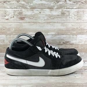 Nike Air Jordan AJ V.2 Low Air Mens 11.5 Black Red
